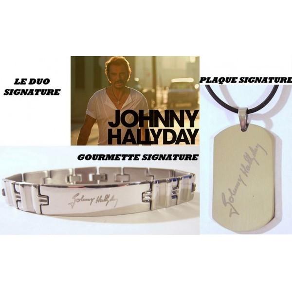 """Bijoux griffés """" Johnny Hallyday """"  Ob_dc910"""