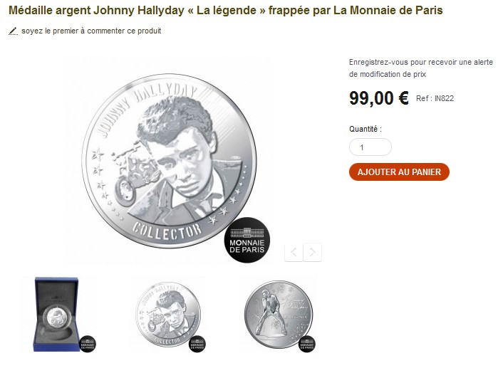 Monnaies et médailles                                 Sansti11