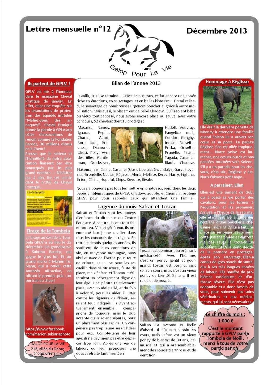 GPLV - Lettre mensuelle n°12 - Décembre 2013  Nl_dac10