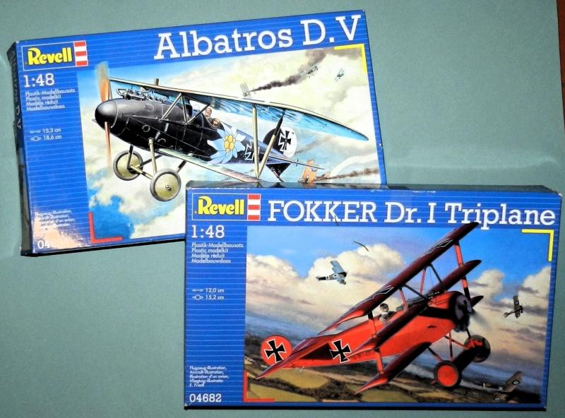 Albatros D.V 1917 - Revell 1/48 > Terminé !! Dscn6213