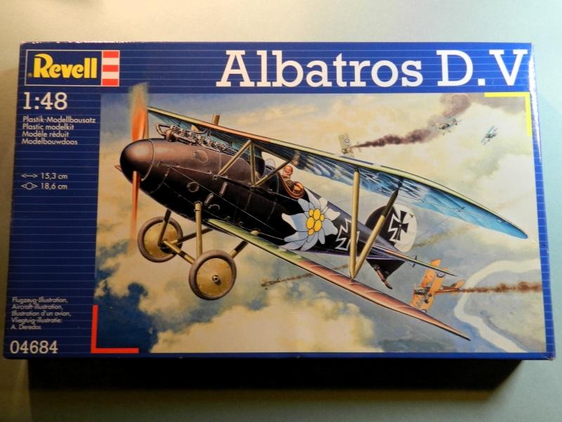 Albatros D.V 1917 - Revell 1/48 Dscn6411