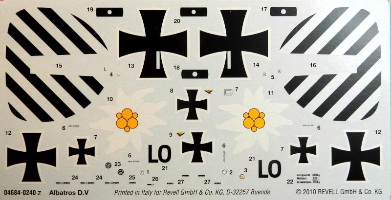 Albatros D.V 1917 - Revell 1/48 > Terminé !! Dscn6414