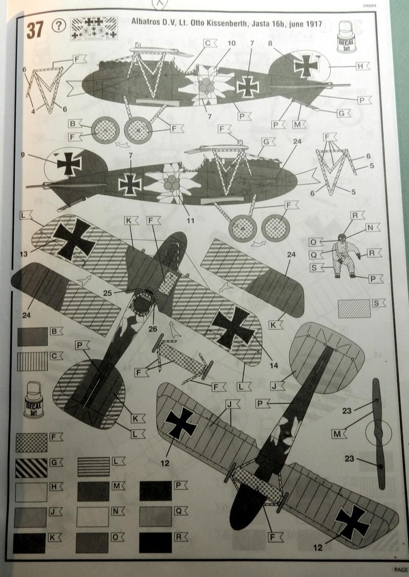 Albatros D.V 1917 - Revell 1/48 > Terminé !! Dscn6421