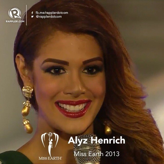 Alyz Henrich -  The Official Thread of MISS EARTH® 2013 Alyz Henrich Venezuela  4aca6f10