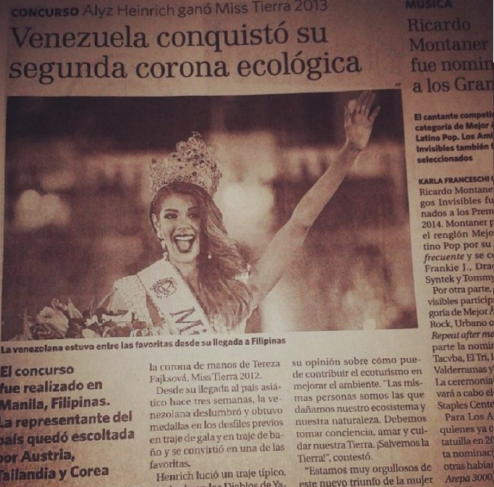 Alyz Henrich -  The Official Thread of MISS EARTH® 2013 Alyz Henrich Venezuela  60291310