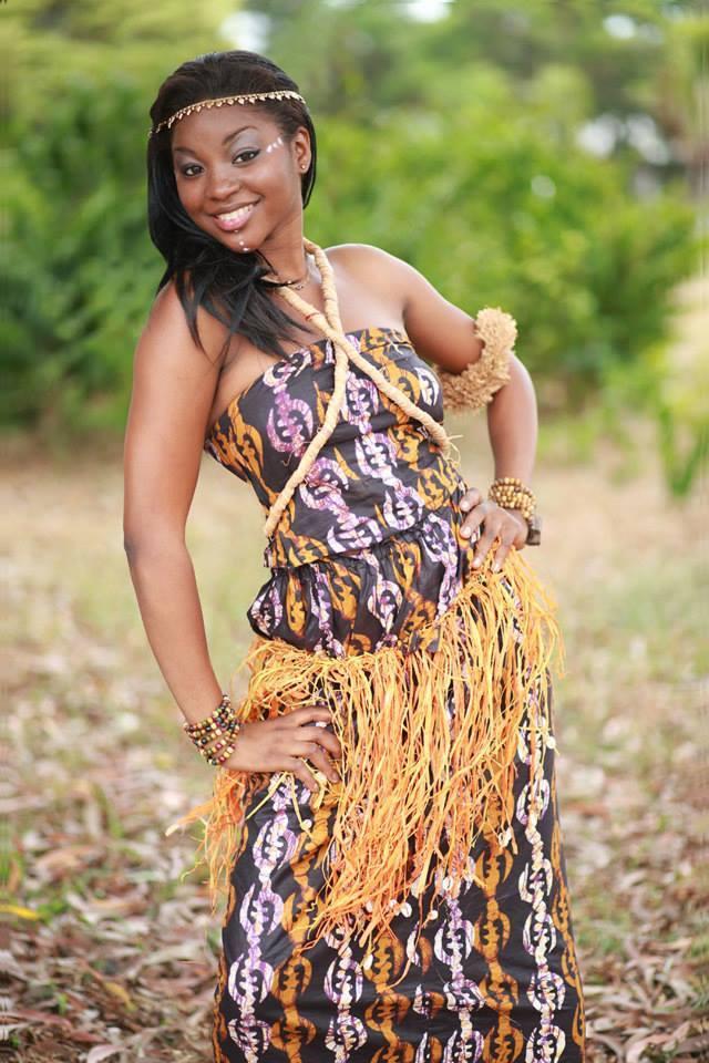 Pulcherie Nze Nzoughe (GABON 2014) Miss-g10