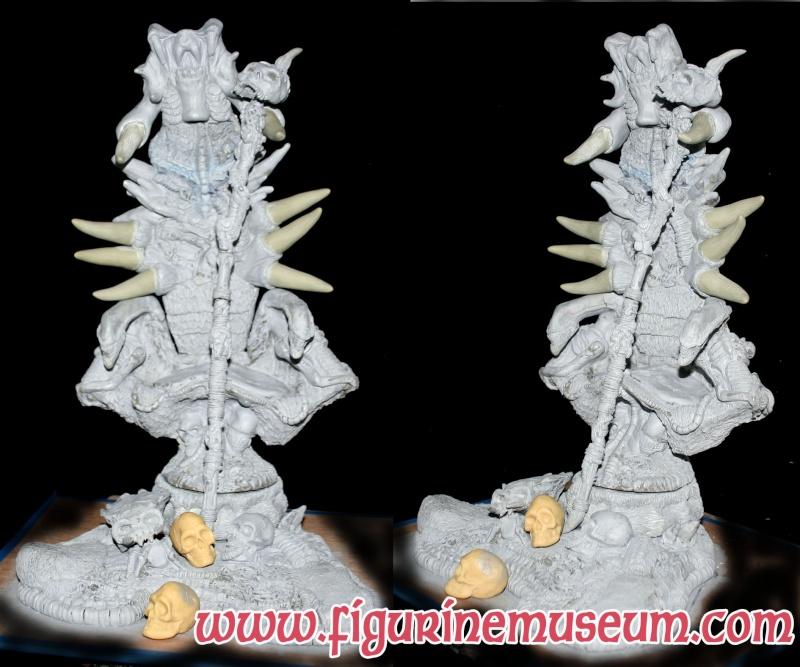 predator & son trone 1/6 eme resine  Base2_11