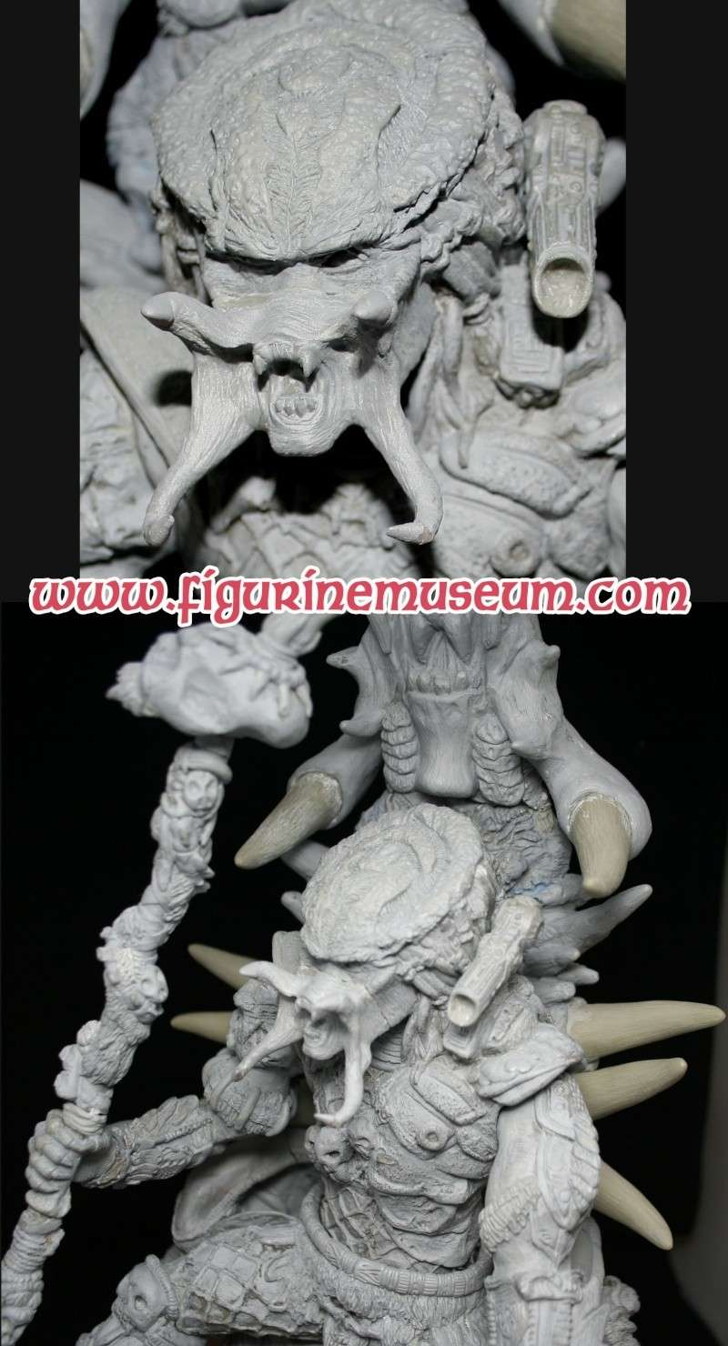 predator & son trone 1/6 eme resine  Detail21
