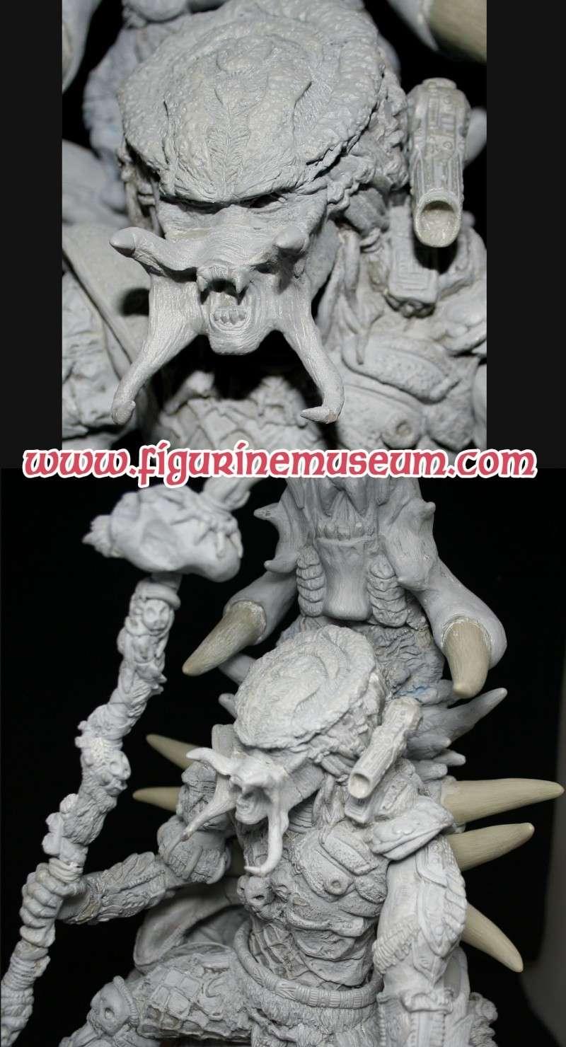 predator & son trone 1/6 eme resine  Detail22