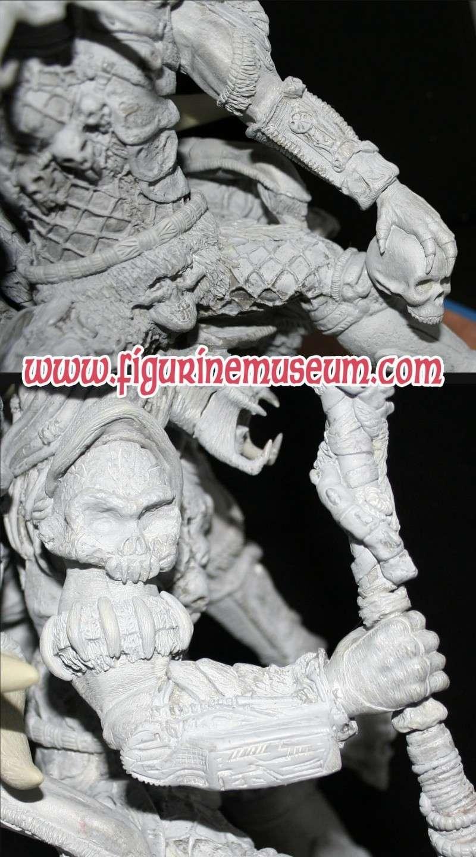 predator & son trone 1/6 eme resine  Detail23
