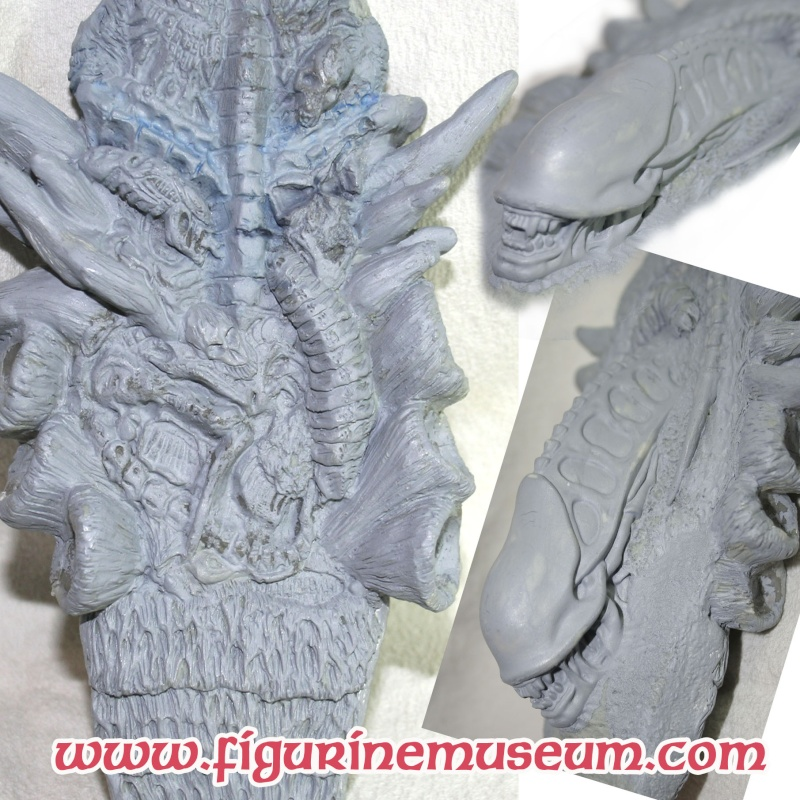 predator & son trone 1/6 eme resine  Detail26