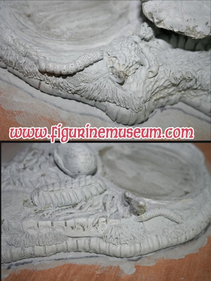predator & son trone 1/6 eme resine  Detail30