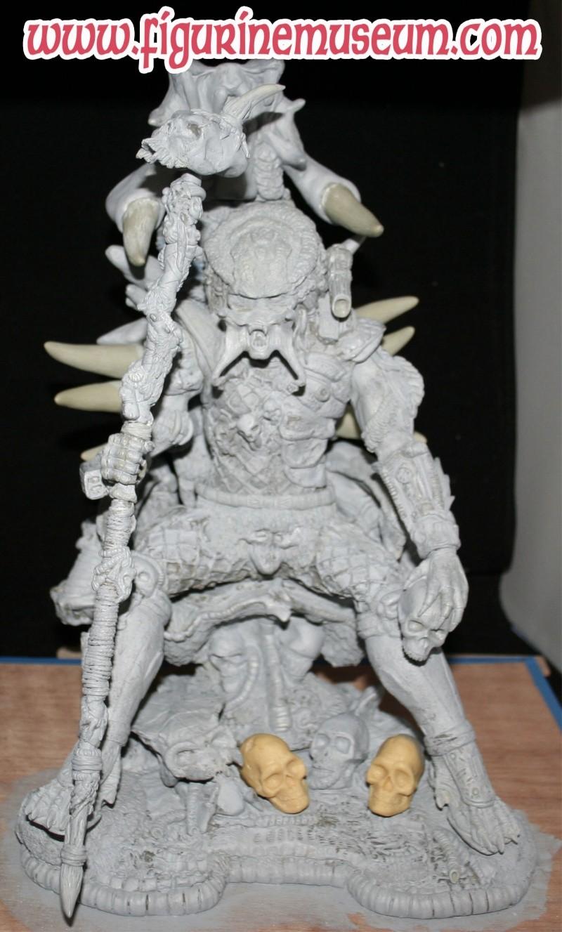 predator & son trone 1/6 eme resine  Grande10