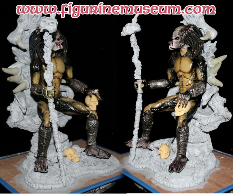 un trone predator 1/6eme  Troisq10