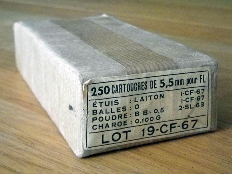 munitions .22 réglementaires 250-2210