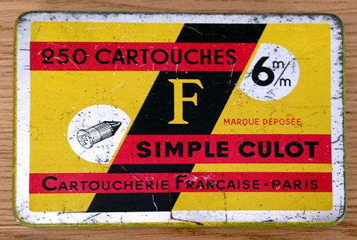 Cartoucherie Française Flober10