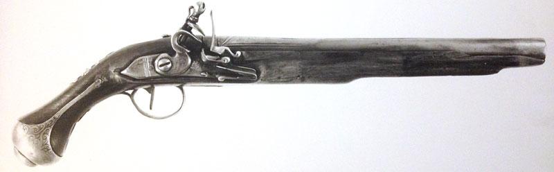 Un pistolet à silex Longsi10