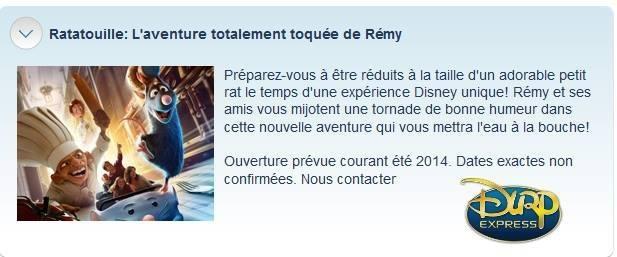 """Construction du Dark Ride  """"Ratatouille - L'Aventure Totalement Toquée de Rémy """"pour 2014 - Page 37 11502110"""