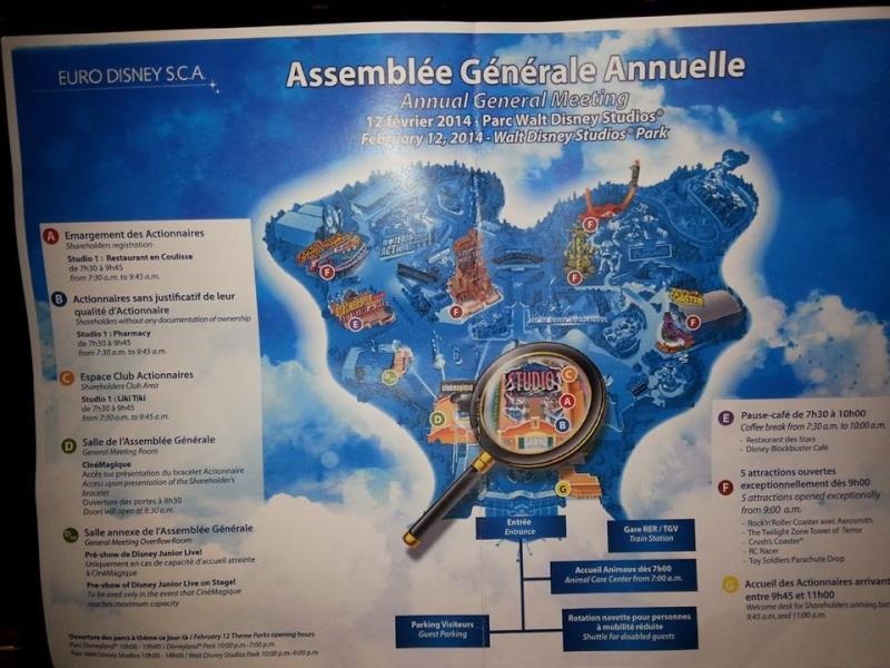 Assemblée générale 2014 d'EuroDisney SCA 13925710