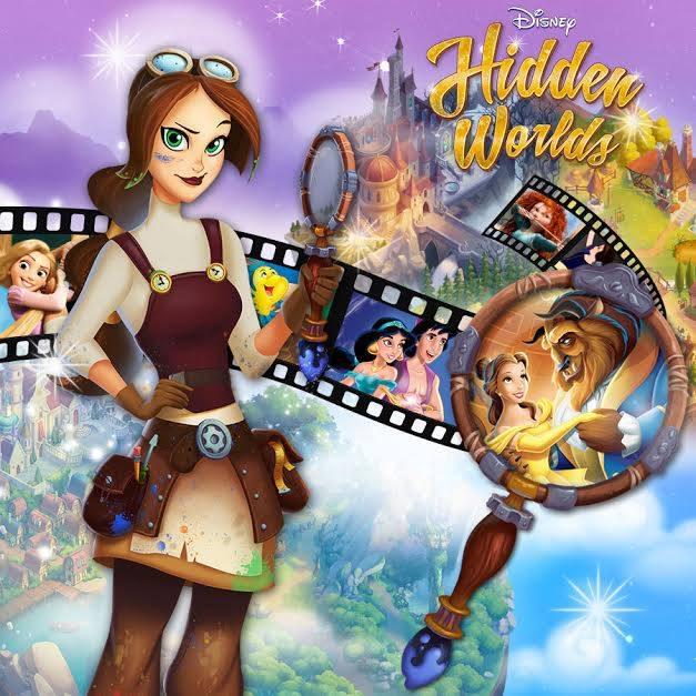 Nouveau Jeu Disney Hidden Worlds 14762610