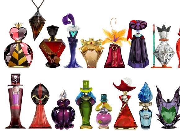 flacons de parfum à l'effigie des Vilains Disney 15607510
