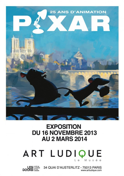 "Meeting exposition "" Pixar, 25 ans d'animations"" (Paris ) 2013-210"