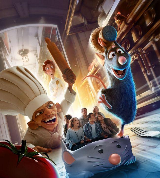 """Construction du Dark Ride  """"Ratatouille - L'Aventure Totalement Toquée de Rémy """"pour 2014 - Page 37 35363710"""