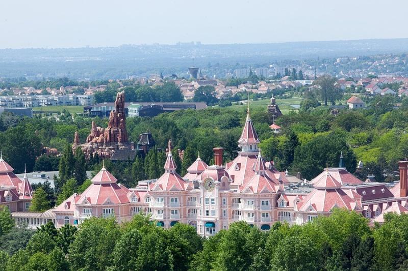 Classement des villes françaises préférées des touristes étrangers. Disney11