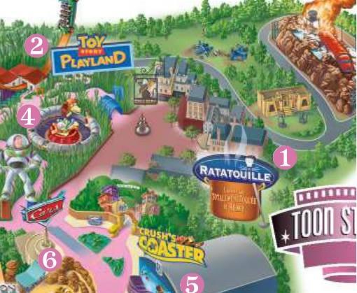 Ratatouille - L'Aventure Totalement Toquée de Rémy  Map-ra11