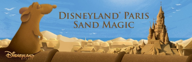 Festival de Sculpture de Sable : Disneyland®Paris Sand Magic à Ostende en Belgique - 2014 Platli10