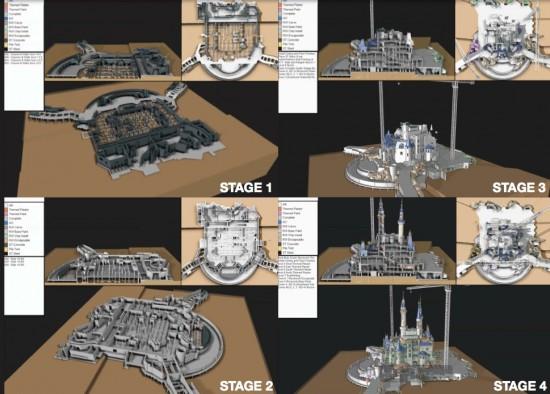 Shanghai Disneyland  - Page 9 Stages10