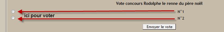 [ Clos ]Vote Rodolphe le renne du père noël 12-01-10
