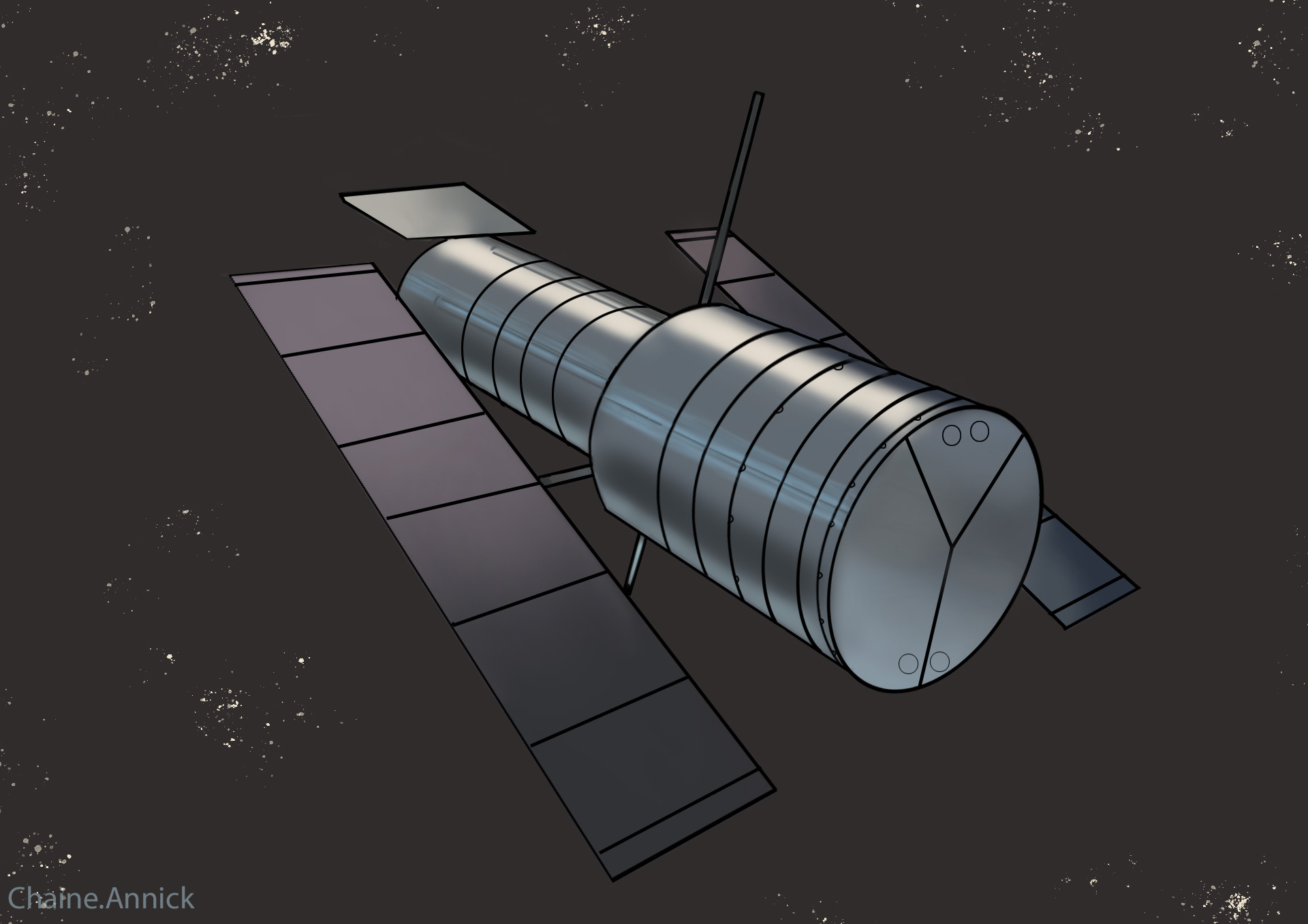 Painting de Petite_Perle Hubble10