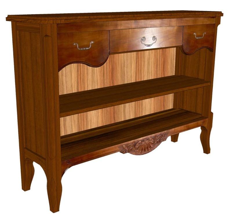 Aide sur sketchup pour plan de meuble Meuble10