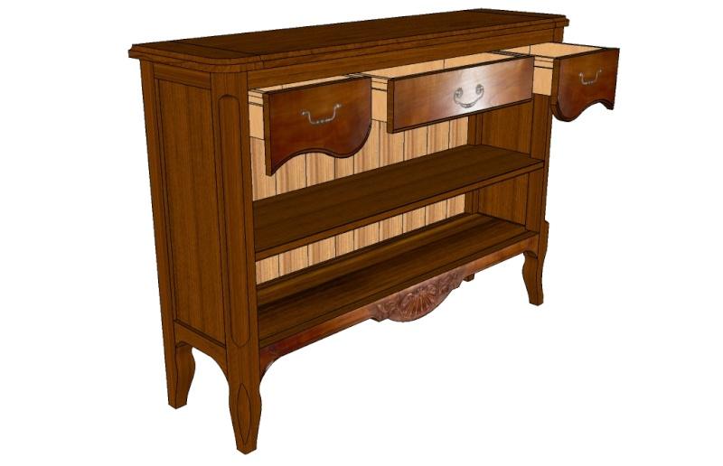 Aide sur sketchup pour plan de meuble Meuble11
