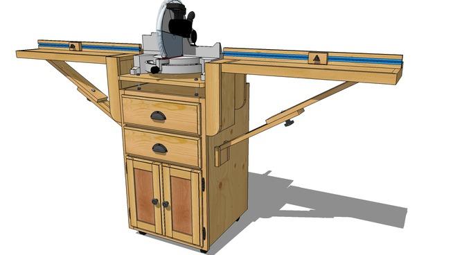 Aide sur sketchup pour plan de meuble Miter_10