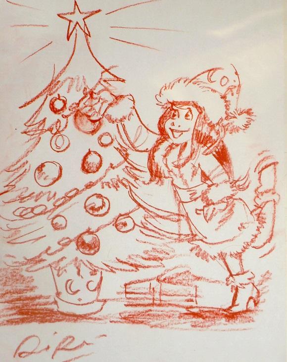 [Votes jusqu'au 17 décembre!!] Le jeu des 5 minutes - Tome 14 : Les sapins de Noël !! Jusqu'au 4 décembre 2013. Riri10