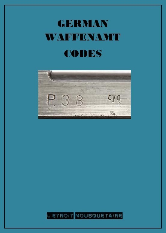GERMAN WAFFENAMT CODES German12
