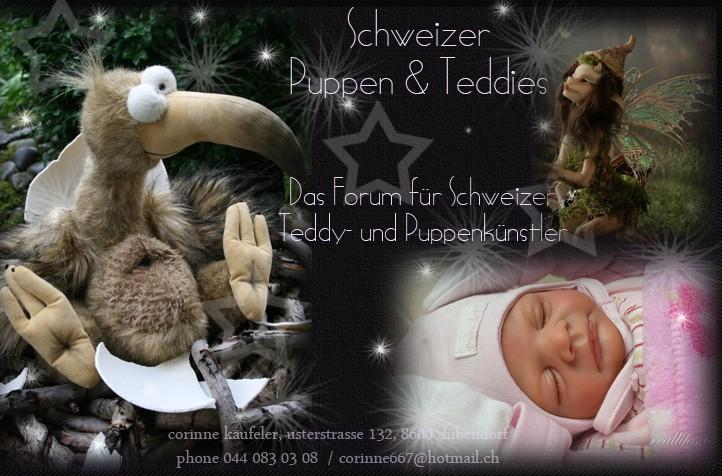 Schweizer Puppen & Teddies
