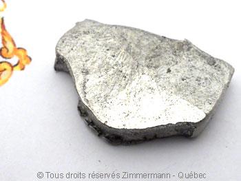 B.O. Palladium, saphir cabochon 3 mm et diamant de 8/100 ct Bopabc11