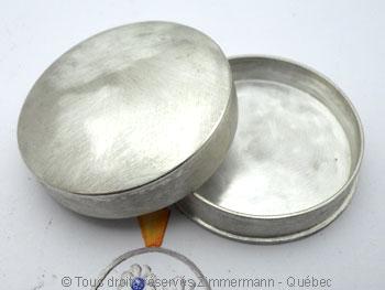 Pilulier en argent Bpa01810