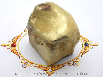 Chevalière or avec lapis-lazuli, à partir d'un lingot d'or de 102 grammes Cvoc0210