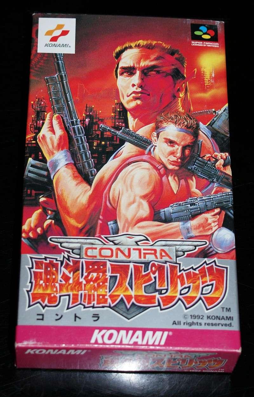 les jeux jap ayant changé de noms lors de leurs sortis en us et pal Contra10