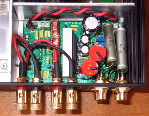 TA2020: condensatori d'ingresso e l'incubo dell'autoscillazione Togli11