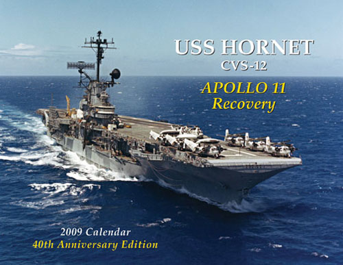 New project USS Hornet CVS 12 Apollo 11 Recovery mission  2009ca10