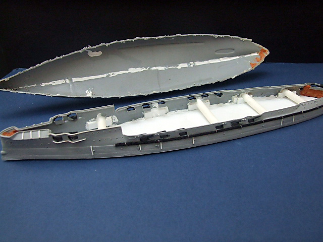 My new Project Russian Battleship Borodino 1905 Dscf4710