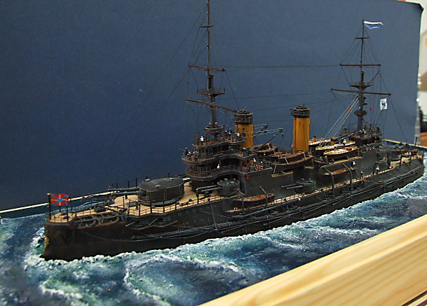 My new Project Russian Battleship Borodino 1905 - Page 3 Dscf4933
