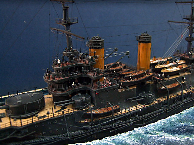 My new Project Russian Battleship Borodino 1905 - Page 3 Dscf4935