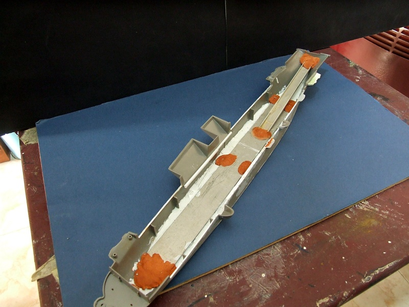 New project USS Hornet CVS 12 Apollo 11 Recovery mission  Dscf5411