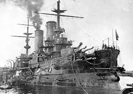 My new Project Russian Battleship Borodino 1905 Images10